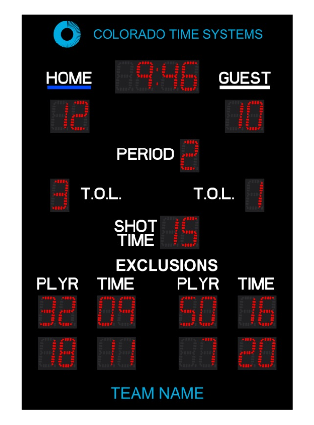 Otter-Water-Polo-Scoreboard-with-2-Exclusions